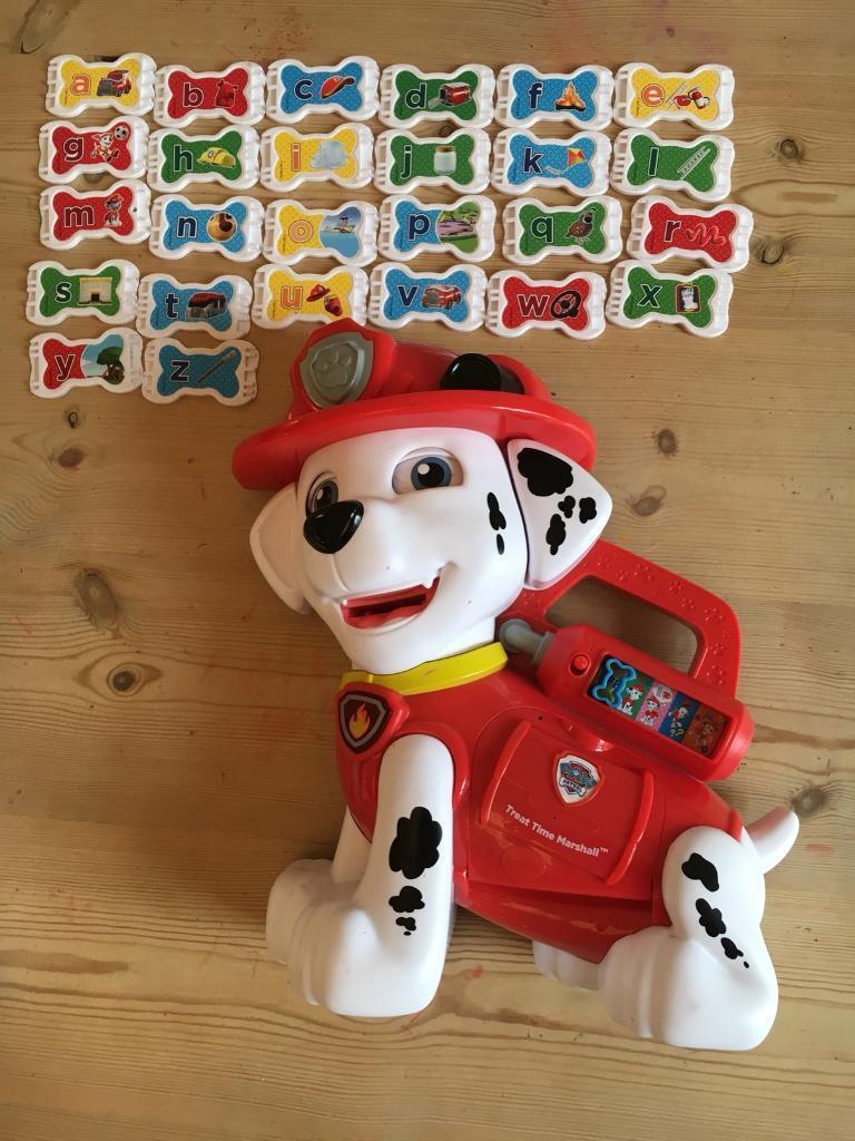 Treat Time Marshall Paw Patrol toy