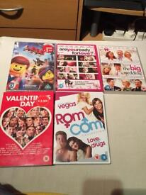 5x DVD's