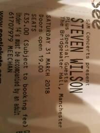 Steven wilson concert ticket