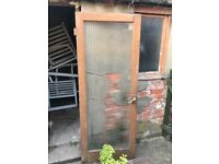 3 solid wood doors for sale