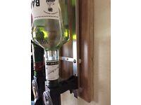 Wall mount drinks optic