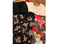 Ladies size 10 blouses