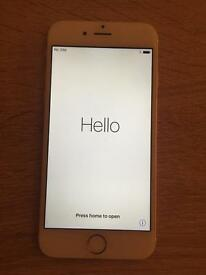 iPhone 6 16gb gold/white unlocked