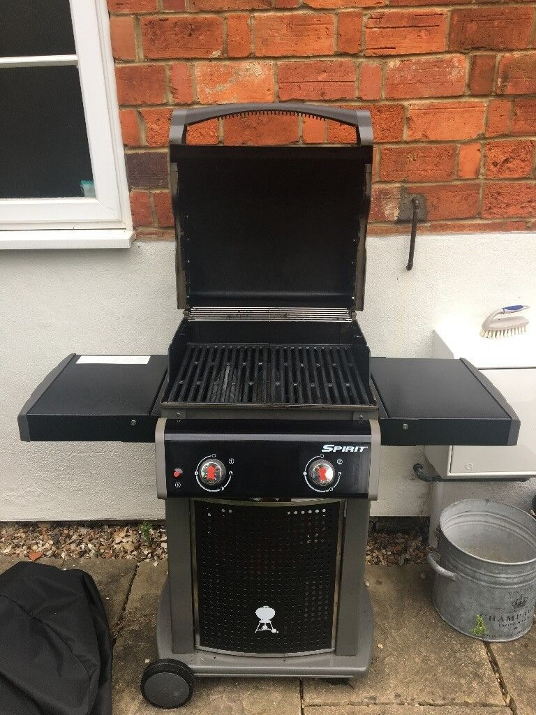 Weber Spirit E210 BBQ with Weber cover and gas bottle | in  Henley-on-Thames, Oxfordshire | Gumtree