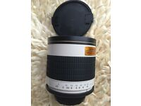 Samyang 500mm f6.3 Mirror Lens. Ultra-telephoto photography!