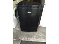 WHIRLPOOL Black Under Counter Just Fridge with 90 Days Warranty