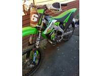 Motocross bike 2011 kxf250 road registered