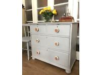 VICTORIAN PAINTED CHEST FREE DELIVERY LDN🇬🇧