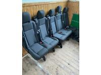 Transit seats/camper