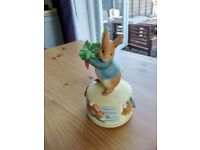 Peter Rabbit rotating musical toy