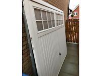 Garage door for sale. 3 years old. Great condition. Pick up from Kilwinning