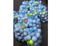 As new premium golf balls