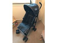 Babystart stroller/pushchair Black and Red