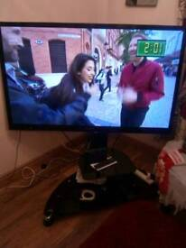 50 inch Sony 3D smart TV with stand