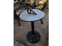 Iron Garden Sundial