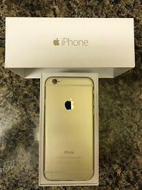 IPhone 6 gold 16mb excellent condition