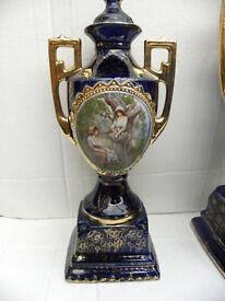 2 Royal Warwick Vases