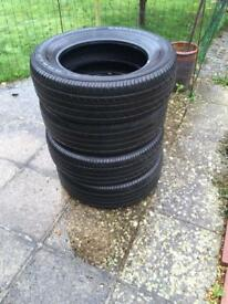 4 Yokohama Geolandar tyres size 225/65 R 17 102V