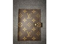 AUTHENTIC LOUIS VUITTON - MONOGRAM DAILY ORGANISER AND CREDIT CARD HOLDER