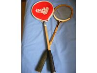 Two squash rackets for sale