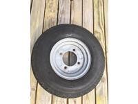 """Trailer wheels 8"""" 4.80 4.00 8, 115mm pcd, Erde 122 daxara127"""