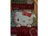 hello kitty foot spa