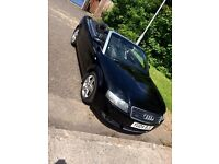 Audi A4 1.8T-sport convertable (low millage)