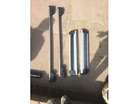 Original Mercedes Roof Rack bars with ski holders MUST GO QUICK