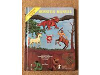 Advanced D&D Monster Manual 4th edition August 1979