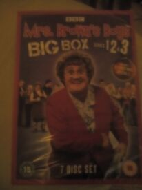 Mrs. Brown's Boys Big box series 1,2&3 brand new not opened double gift