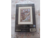 Dimensions Gold collection petites Cross Stitch Pattern. 'napping kitten' Brand new unopened.