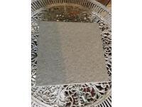 Matt light grey floor / wall tile
