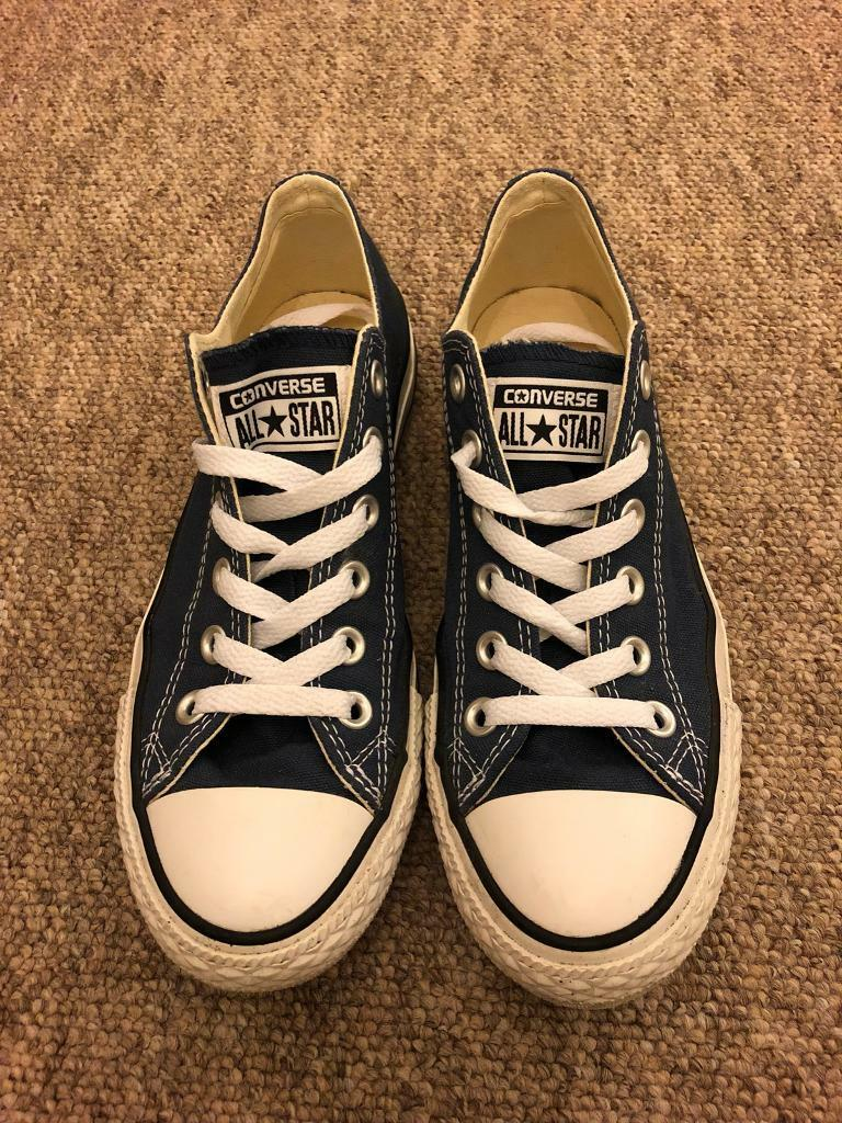 Women's Navy All Star Converse size 5 worn once