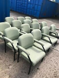 15 x office arm chairs