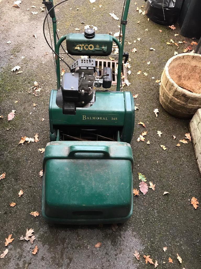 Atco balmoral 14 s lawnmower