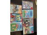 Children's dvd's job lot, Peppa pig, fireman sam