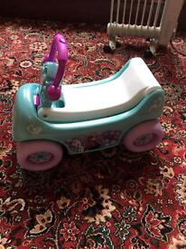 Rocking horse, Disney Frozen buggy, Walker