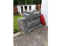 "4"" concrete blocks"