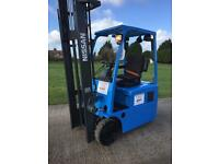 Nissan electric forklift truck
