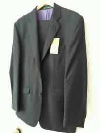 Navy blue greenwoods mens suit