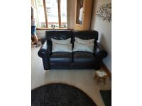 Leather sofa excellent condition from a smoke free and pet free home