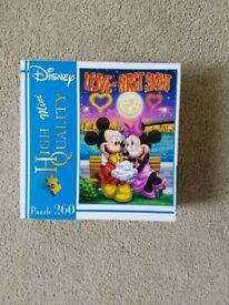 Mini Mouse 260 Piece Puzzle