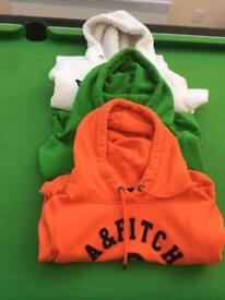 3 Abercrombie & Fitch Hoodies