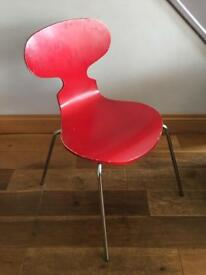 4 vintage style 60s designer chairs