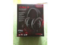 Kingston Hyper X Cloud II Pro Gaming USB/3.5mm Headset FREE UK delivery available