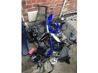 Wr 125 2014 parts for sale