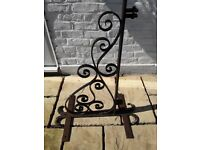 Wrought Iron Shop Sign