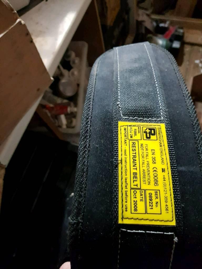 P+P safety restraint belt