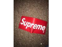 Supreme Louis Vuitton wallet red new