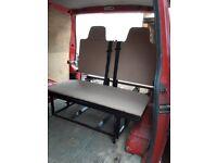rock n roll bed fit most vans vw t4 t5 transporter